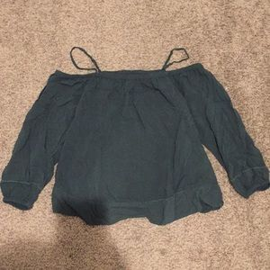 Old navy green top medium fits small